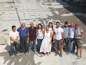 foto team profeti in occasione dei 60 anni dell'azienda